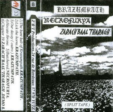 Krazumpath / Zarach 'Baal' Tharagh / Necrofurya - Krazumpath / Necrofurya / Zarach 'Baal' Tharagh