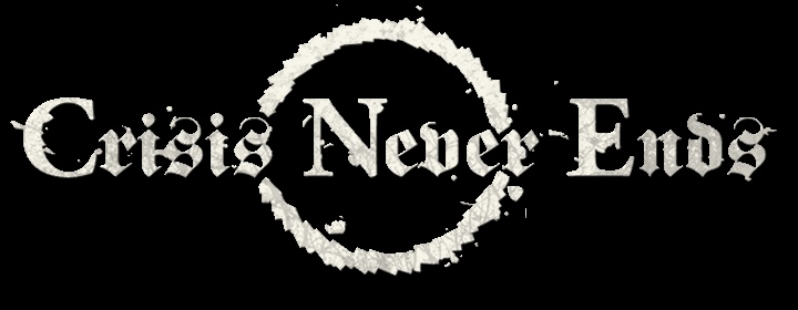 Crisis Never Ends - Logo