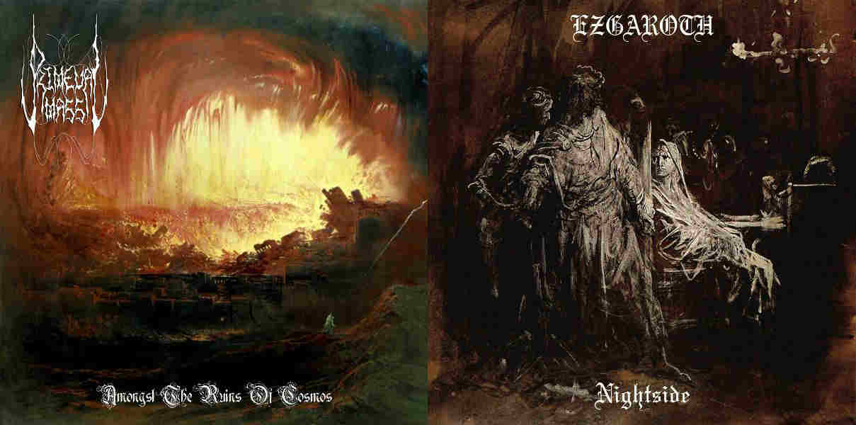 Ezgaroth / Primeval Mass - Amongst the Ruins of Cosmos / Nightside
