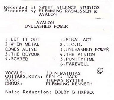 Avalon - Unleashed Power