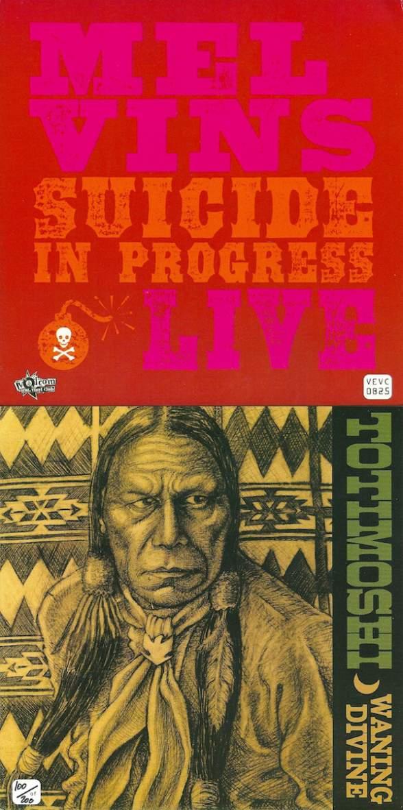 Melvins - Suicide in Progress Live / Waning Divine