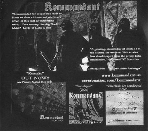 Kommandant - Sampler 2011