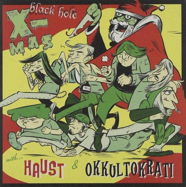Haust / Okkultokrati - Black Hole X-mas