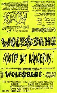 Wolfsbane - Wasted but Dangerous
