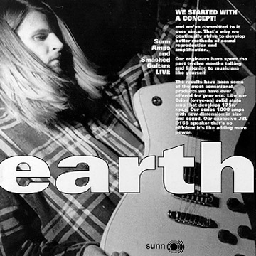 Earth - Sunn Amps and Smashed Guitars Live