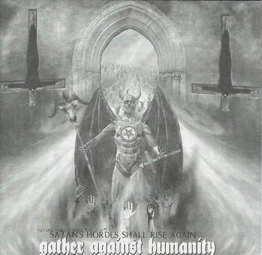 Kult ov Azazel / ThyLord / Obitus / Humanicide - Gather Against Humanity