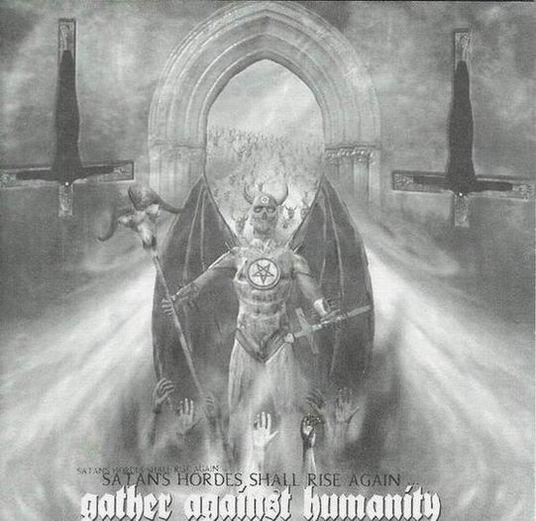 Kult ov Azazel / ThyLord / Obitus / Humanicide - Gather Against Humanity