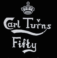 Carl Turns Fifty - Logo