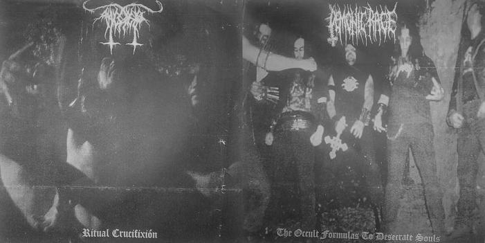 Demonic Rage / Anticristo - Ritual Crucifixión / The Occult Formulas to Desecrate Souls