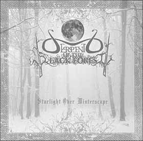 Serpent of the Black Forest - Starlight over Winterscape