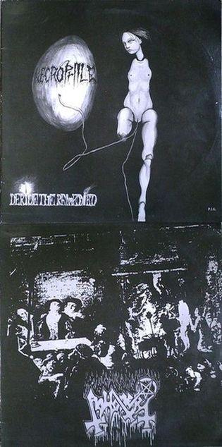 Abhorer / Necrophile - Deride the Remedied / Rumpus of the Undead