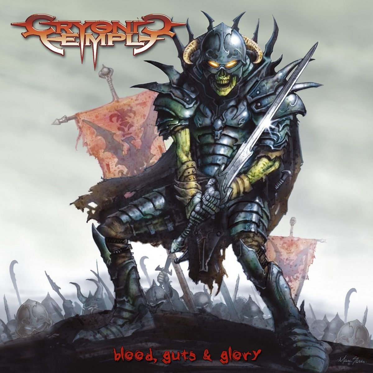 Cryonic Temple - Blood, Guts & Glory