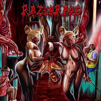 RazorRape - Revenge of the Hermaphrodite Whores