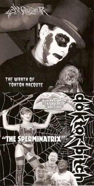 Schnauzer / Doktor Bitch - The Wrath of Tonton Macoute / The Sperminatrix
