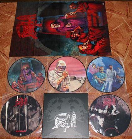 Death - Picture Disc Boxset