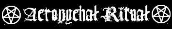 Acronychal Ritual - Logo