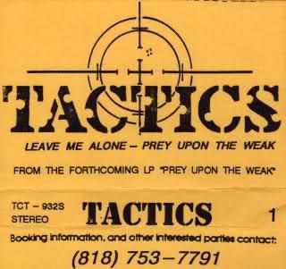 Tactics - Tactics 1