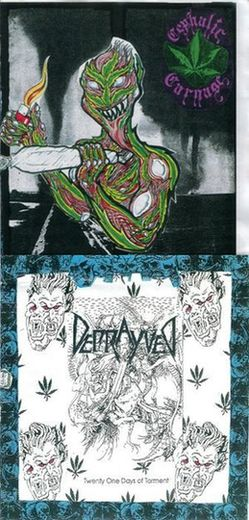 Cephalic Carnage / Deprayved - Cephalic Carnage / Deprayved