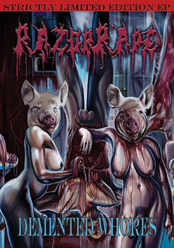RazorRape - Demented Whores
