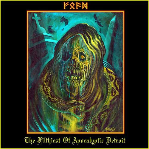 Anguish / Reaper / Shitfucker / Perversion - F.O.A.D - The Filthiest of Apocalyptic Detroit