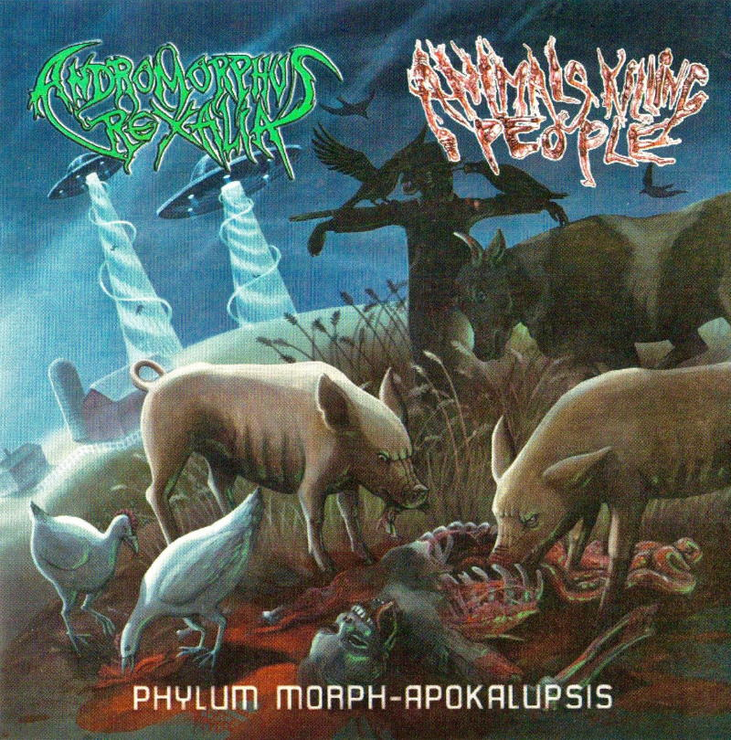 Animals Killing People / Andromorphus Rexalia - Phylum Morph-Apokalupsis