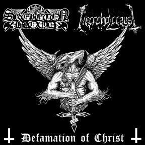 Skeleton Blood / Necroholocaust - Defamation of Christ
