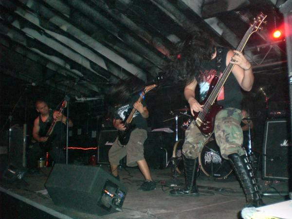 Grave Desecration - Photo