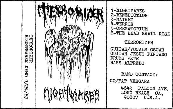 Terrorizer - Nightmares