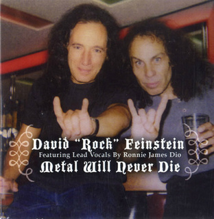 David Rock Feinstein - Metal Will Never Die