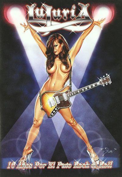 Lujuria - 10 años por el puto rock 'n' roll