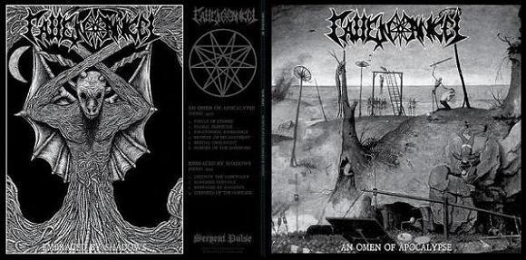 Fallen Angel - An Omen of Apocalypse / Embraced by Shadows