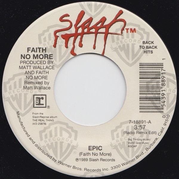 Faith No More - Epic / Falling to Pieces