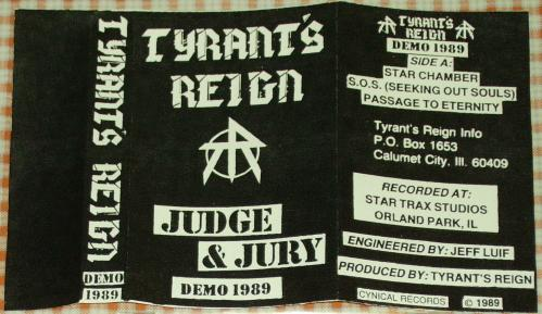 Tyrant's Reign - Judge and Jury