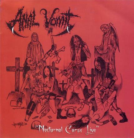 Anal Vomit - Nocturnal Curse Live