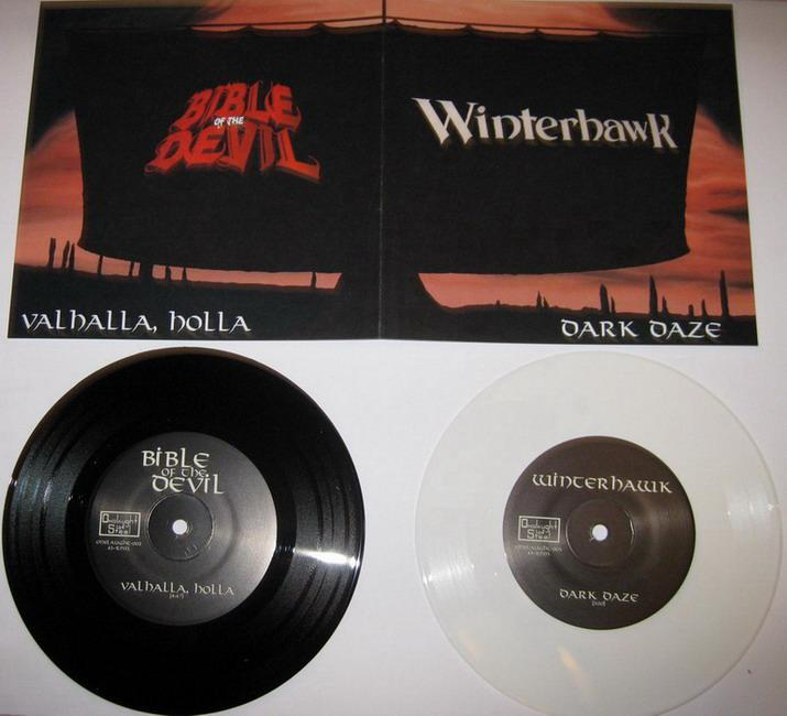 Bible of the Devil - Dark Daze / Valhalla, Holla