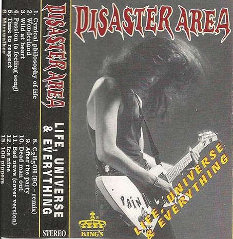 Disaster Area - Life, Universe & Everything