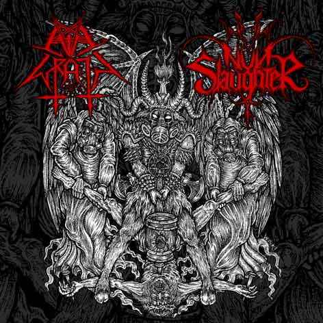 Nunslaughter / Evil Wrath - The Hammer of Satan