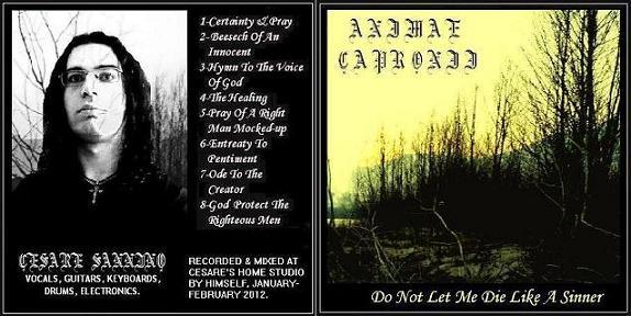 Animae Capronii - Do Not Let Me Die like a Sinner