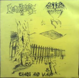 Metal Invocation / Nightmare - Chaos and W.A.R.