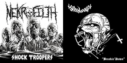 Nekrofilth / Speedwolf - Breakin' Down / Shock Troopers