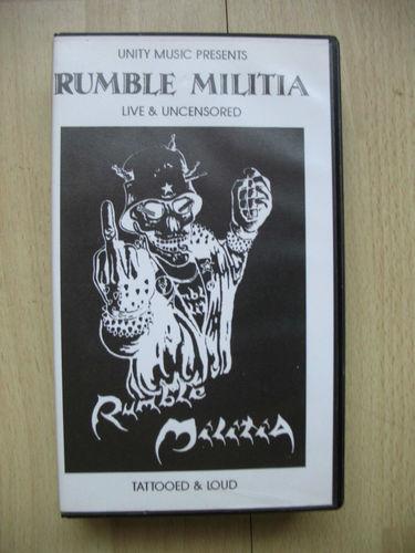 Rumble Militia - Tattooed & Loud