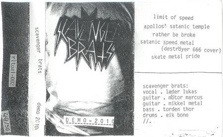 Scavenger Brats - Demo 2010