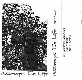 Attempt to Life - First Demo