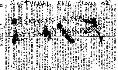 Nocturnal Evil - Promo 02