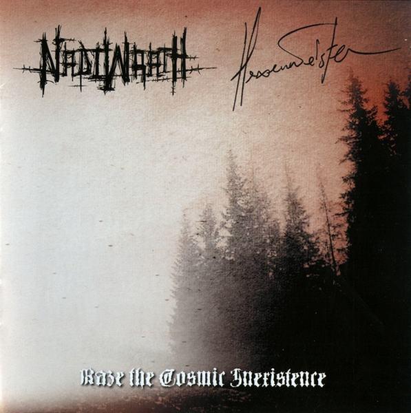 Nadiwrath / Hexenmeister - Raze the Cosmic Inexistence