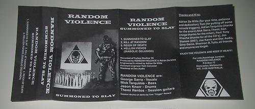 Random Violence - Summoned to Slay
