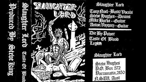 Slaughter Lord - Taste of Blood