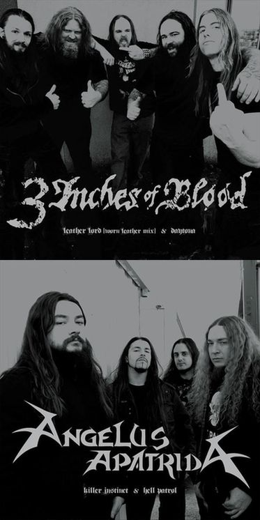 3 Inches of Blood / Angelus Apatrida - 3 Inches of Blood / Angelus Apatrida