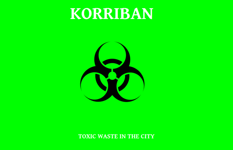 Korriban - Toxic Waste in the City