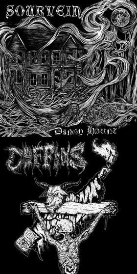 Sourvein / Coffins - Dingy Haunt / Axes of Vengeance